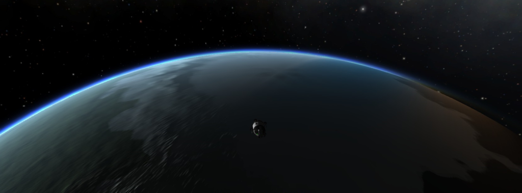 In orbit of Kerbin