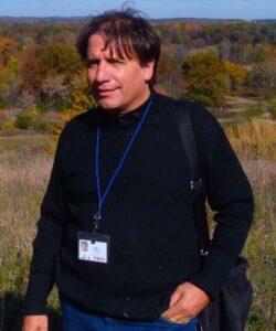 John Zawiskie geologist at Cranbrook Institute of Science