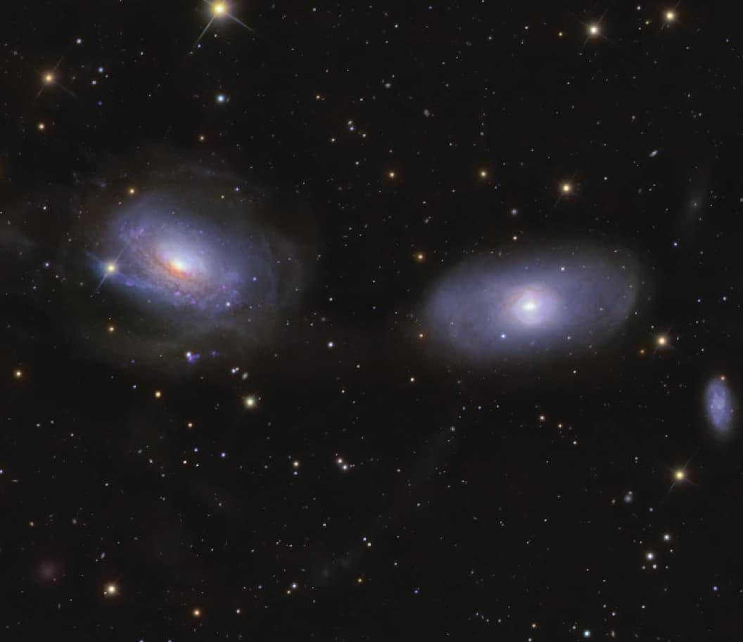 NGC 3166 & NGC 3169 Galaxy Group