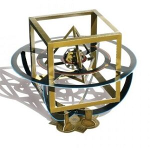 You can even build your own model of Kepler's Cosmographic Mystery!