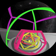 Video from the University of Notre Dame: Kepler's Mysterium Cosmographicum Realized in Fulldome