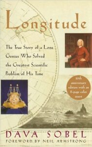 Dava Sobel's best-selling book Longitude discusses the problem of time-keeping and navigation.
