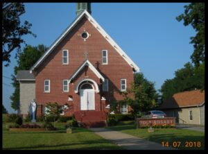 Holy Rosary Catholic Church in Springfield.