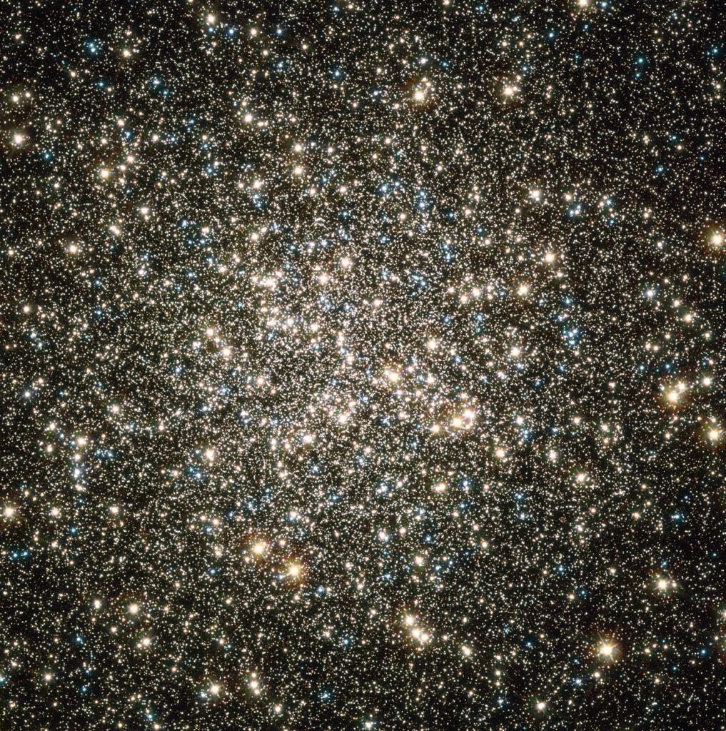 Hubble image of M13