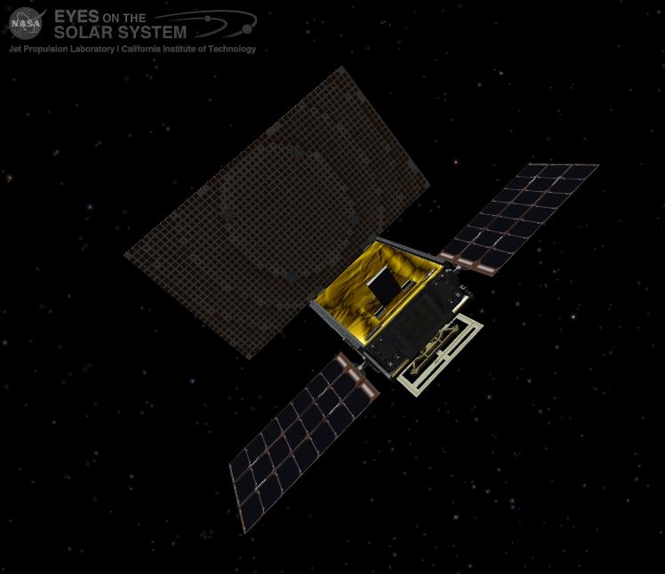 MarCO B satellite