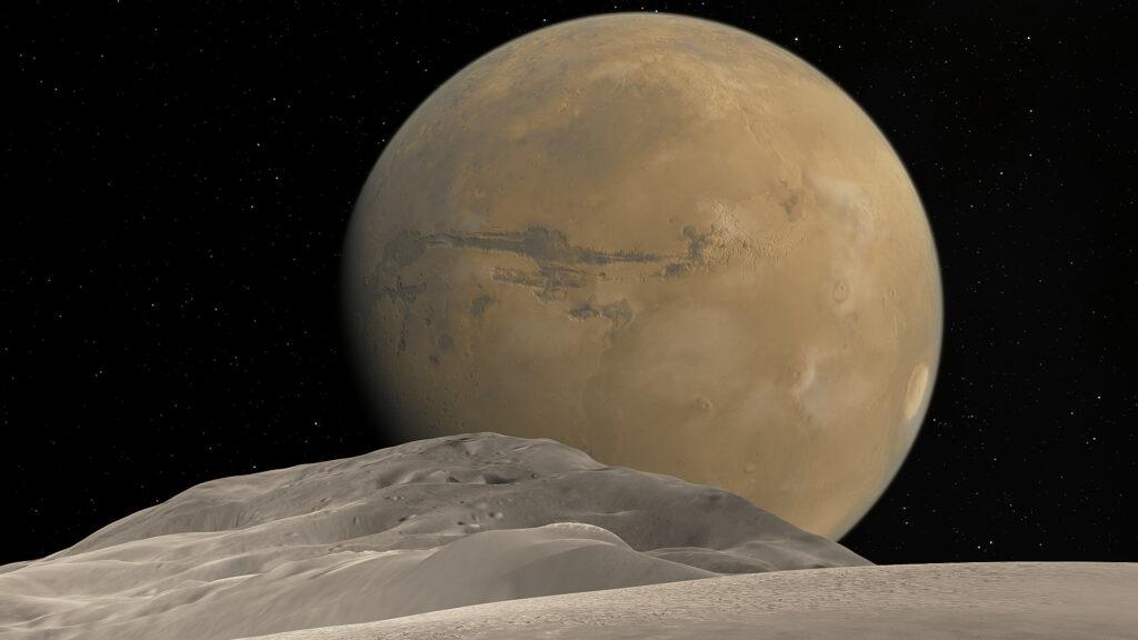 Artist's concept of Mars