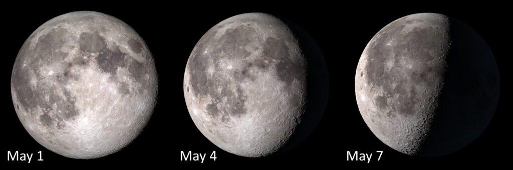 The Moon May 1-7 2018