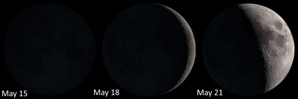 The Moon from May 15-21, 2018