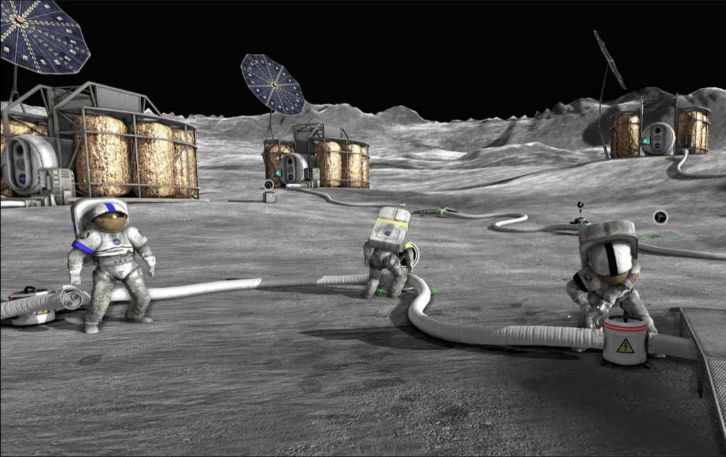 Moonbase Alpha promo pic.