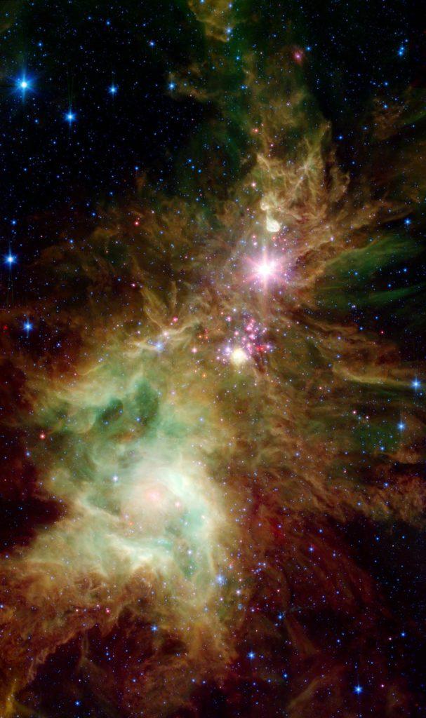 NGC 2264 - The Christmas Tree Cluster
