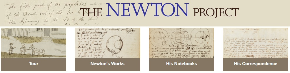 See for yourself what historians are bringing to light—click here for the Newton Project.