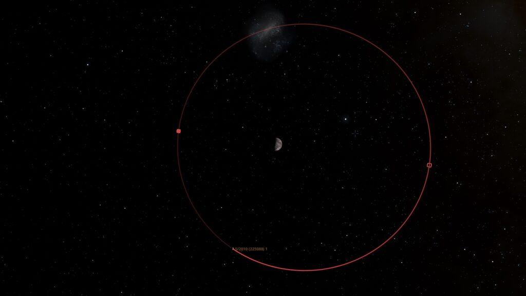 Orbit of S-2010 (225088) 1