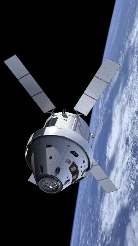 Rendering of the Orion Spacecraft by Mac Rebisz