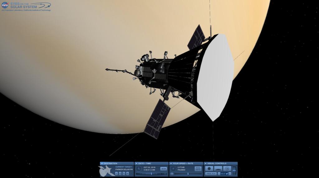 Parker Solar Probe Venus Flyby