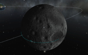 Reducing Δv to land on the Mun.