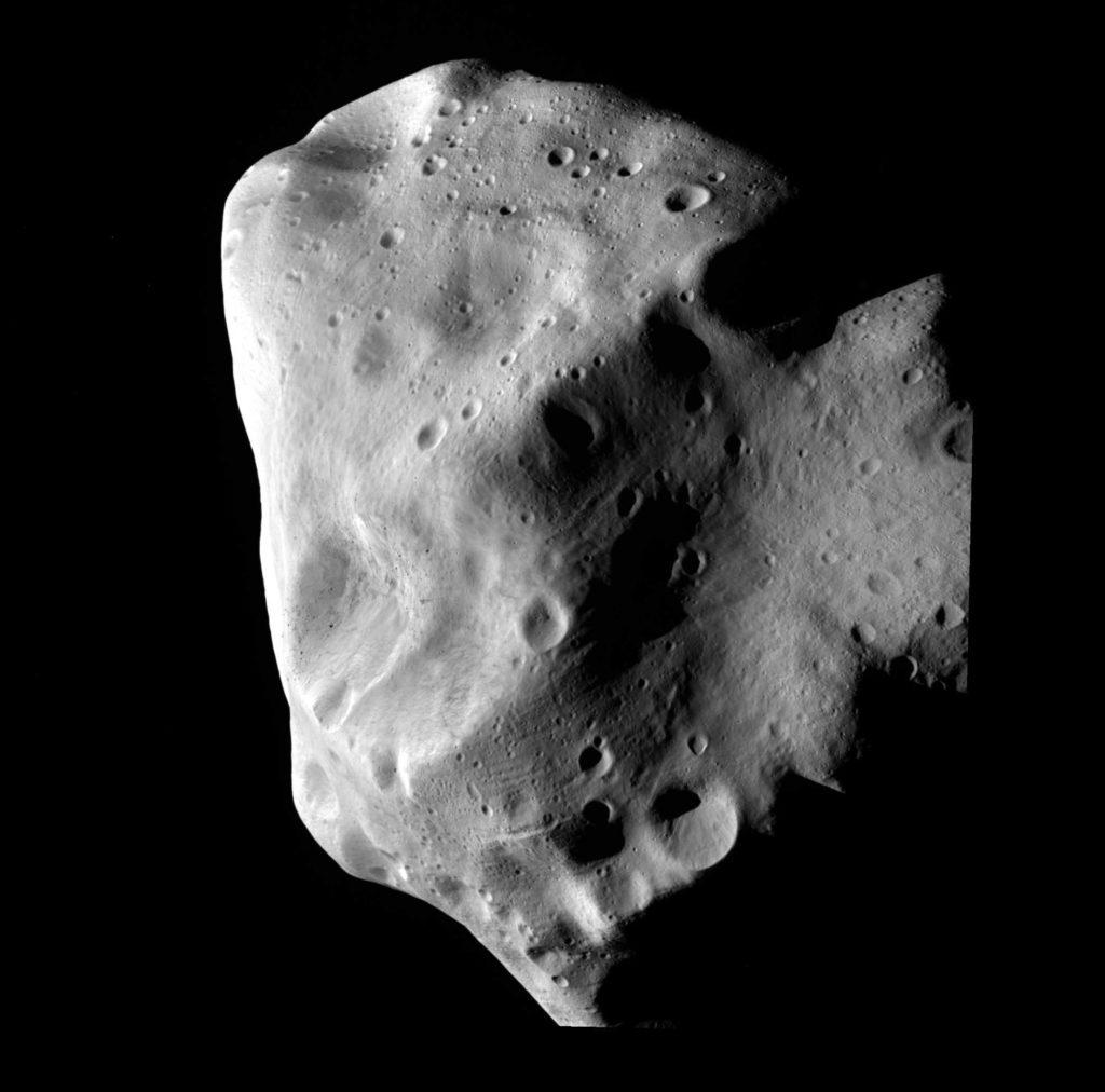 Asteroid 21 Lutetia. Credit: ESA 2010 MPS for OSIRIS Team MPS/UPD/LAM/IAA/RSSD/INTA/UPM/DASP/IDA
