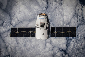 CRS-5 Dragon in Orbit. Credit: SpaceX