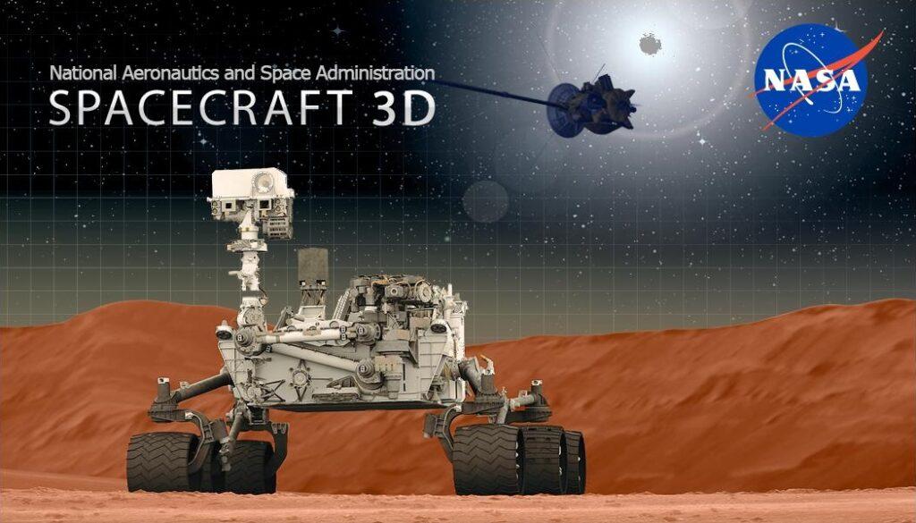 Spacecraft 3D Logo