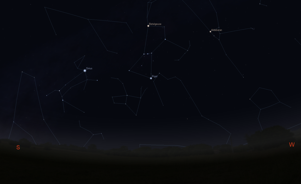 Stellarium Constellation Lines