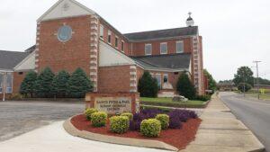 Sts. Peter a& Paul Church in Hopkinsville, Kentucky.