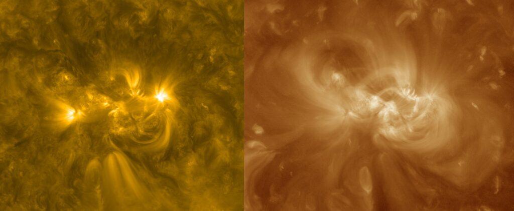 Sun Coronal Loops