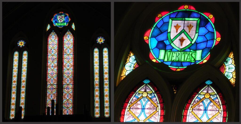 The 'Veritas' Window at St. Louis Bertrand.