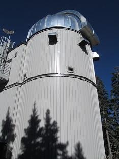 The dome of the Vatican Advanced Technology Telescope (VATT).