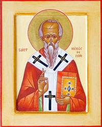 Click on the Icon of St. Irenaeus to read Bishop Barron's article on this great Saint!