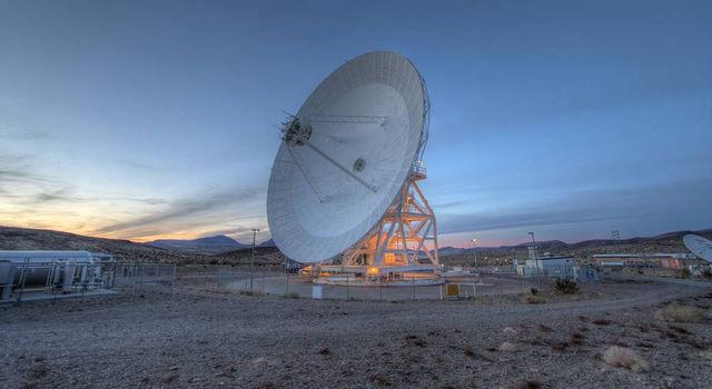 A DSN Antenna in Goldstone, California