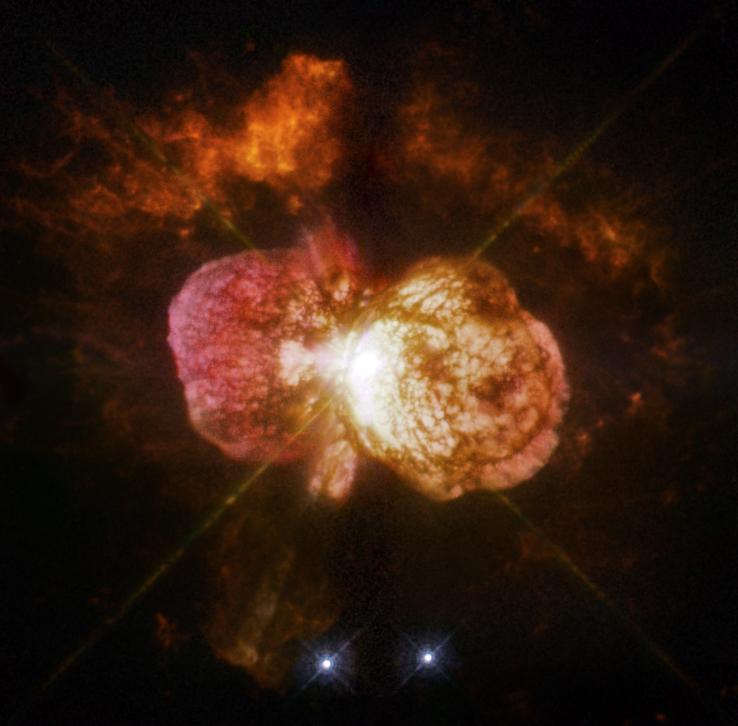 Eta Carinae Nebula. A beautiful celestial
