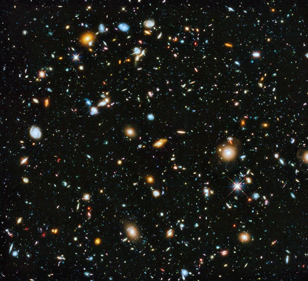 Click on the image to read Nathaniel Scharping's article, The Universe Is 10 times more vast than we thought. Image Credit: Hubble Image NASA/ESA