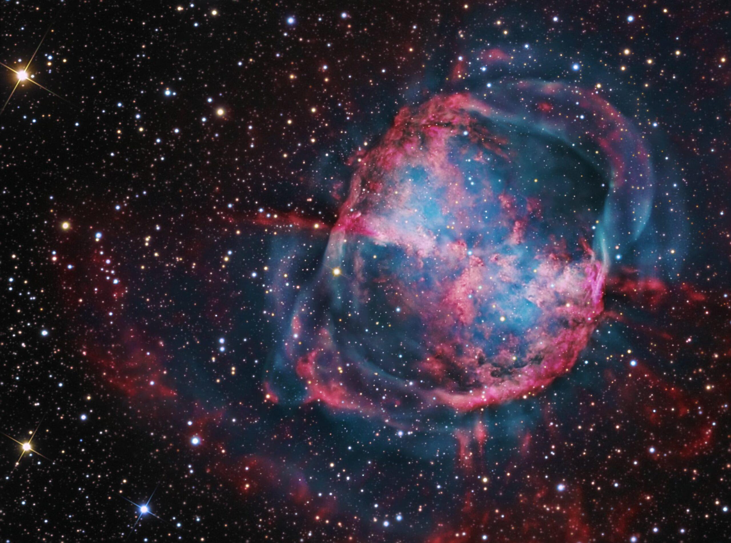 NGC 6853 (M27) The Dumbbell Nebula