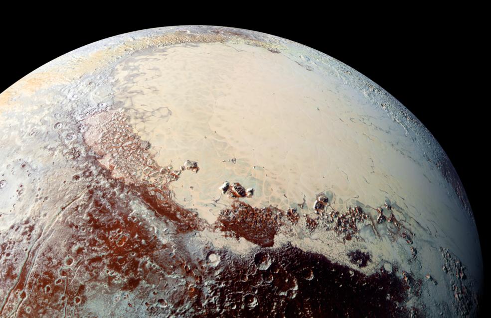 Credit: New Horizons Image of Pluto - NASA