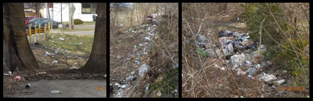 Our food and drink waste comprises a very large portion of all the trash on the land.