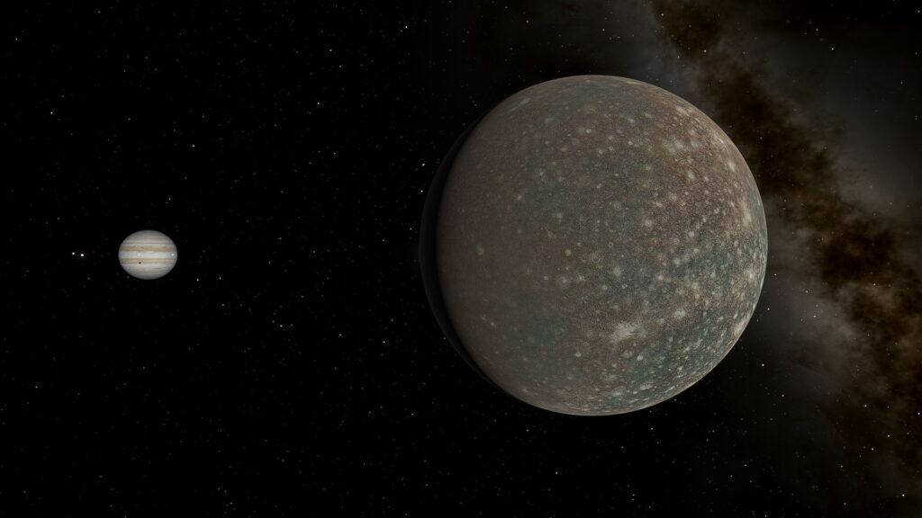 Callisto shadow transit